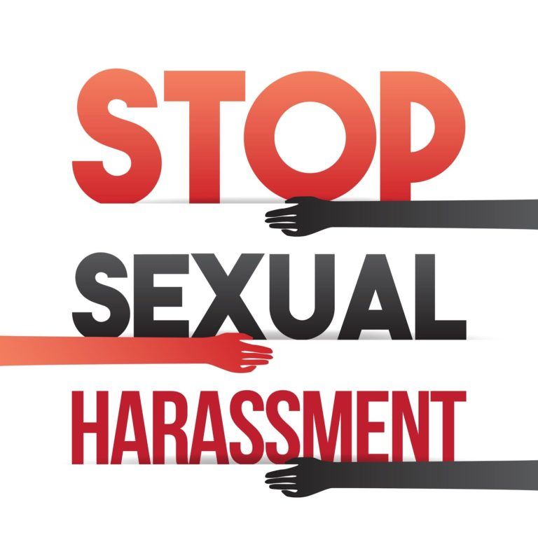 stop sexual harassment graphic